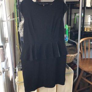 Mossimo XXL NWT Cap Sleeve Peplum Waist Knit Dress